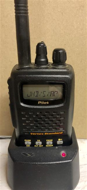 Aviation Pilot's Radio Handheld