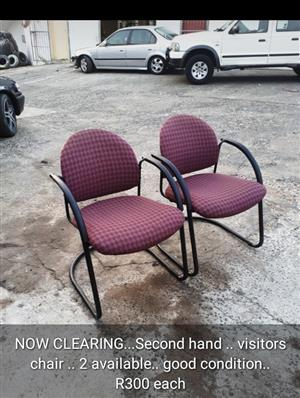 Office chairs ..  visitors chairs