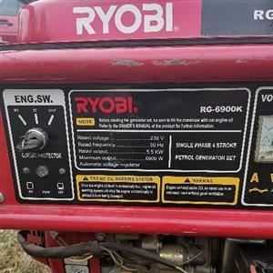 Ryobi petrol generator