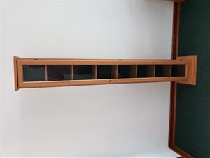 Oak and glass DVD / CD Stand for sale