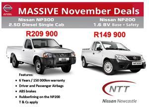 2019 Nissan NP200 1.6i pack