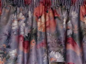 Lined Curtains - 2 pairs