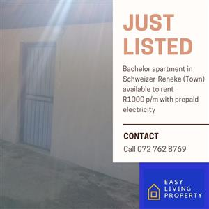 Affordable accommodation to rent in and around Schweizer-Reneke