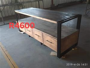 Large Tv stand with drawers