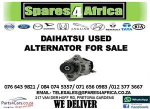 DAIHATSU USED ALTERNATORS FOR SALE