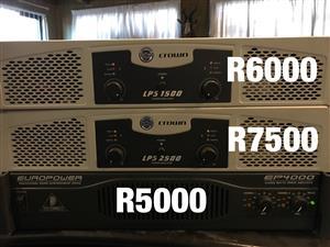 Variety pa sound systems