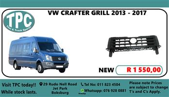 VW Crafter Grill 2013 - 2017 - For Sale at TPC