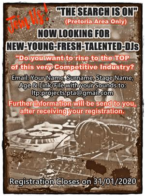 Are you a new, young and talented DJ?