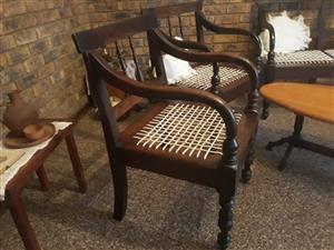 Solid imboja chairs