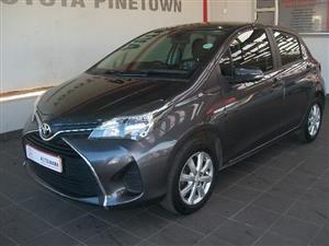 2015 Toyota Yaris 5 door 1.3 XS