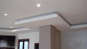 S.S Ceiling and drywall partitions