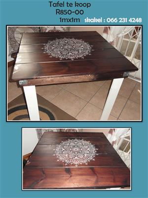 pallet tafels