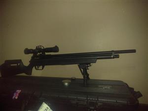 Pcp air rifle benjamin marauder .22