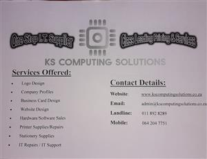 KS Computing Solutions. All your IT needs in one place