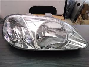 HONDA BALLADE FACELIFT 1999/01 Brand New Headlights for sale price:R1550 each