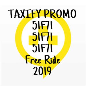 TAXIFY FREE RIDE 51F71 PROMO 2019