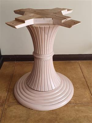 Furniture Parts - Large Wooden Table Leg