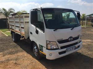 Toyota Hino 300 with mass dropsides