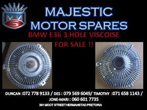 BMW E36 VISCOSE 3 HOLE FOR SALE !!