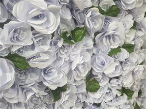 Flower Wall for hire - R1250
