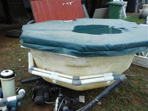 JACUZZI WITH FITTINGS