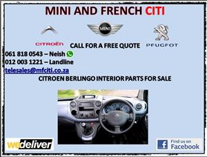 Citroen berlingo interior parts for sale