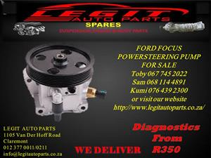 FORD FOCUS POWERSTEERING PUMP FOR SALE