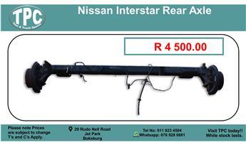 Nissan Interstar Rear Axle For Sale.