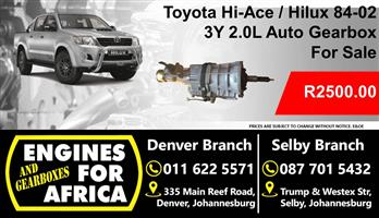 Used Toyota 3y 2.0L 84-02 Auto Gearbox For Sale