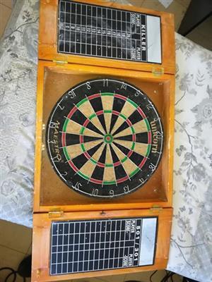 Dartboard en darts