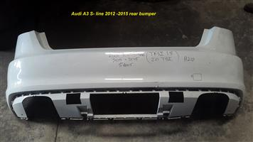 Audi A3 front and rear bumpers for sale.