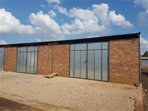 Mini Factory To Let in Klerksoord