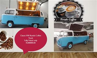 Pre Owned classic  VW  Kombi Coffee Truck