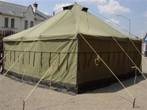 Army Canvas Tents All Sizes