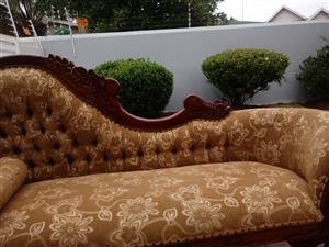 Stunning antique chaise