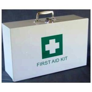 Metal First Aid Kit Regulation 3 – Fully Stocked