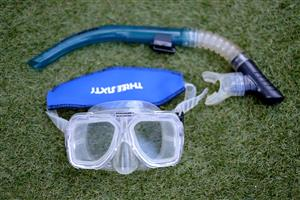 Diving Fins (Mares Plana), Snorkel & Mask