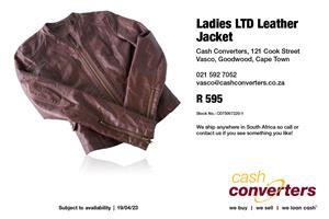 Ladies LTD Leather Jacket