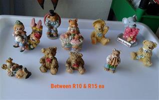 Mini teddy bear ornaments for sale
