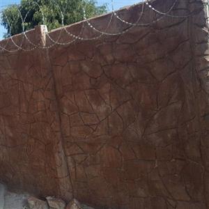 Vibracrete Wall Plastering