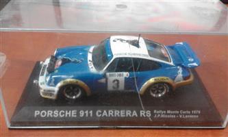 Porsche 911 carrera racing car