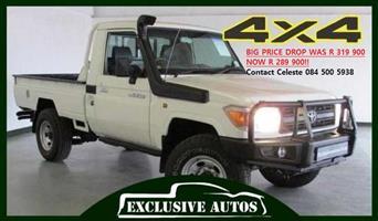 2011 Toyota Land Cruiser 79 4.0 V6