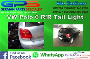 VW Polo 6 R/R Tail Light for Sale