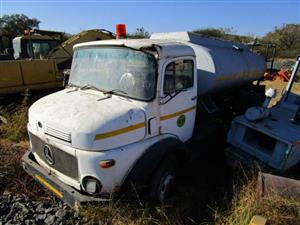 Mercedes Benz Tanker Truck- ON AUCTION