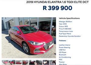 2019 Hyundai Elantra 1.6 Premium auto
