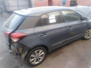 2017 Hyundai i20 stripping for spares by K&M motor spares