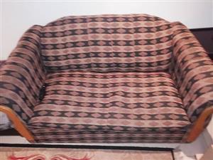 Small 3 piece lounge suite nd a L Shape lounge suite