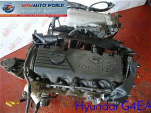 Imported used HYUNDAI ACCENT 1.3L 12V, G4EH, Complete second hand used engine