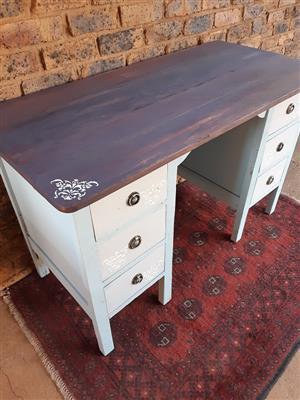 Wood Desk Refurbished
