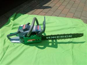 Chain saw 45cc two stroke price incl vat